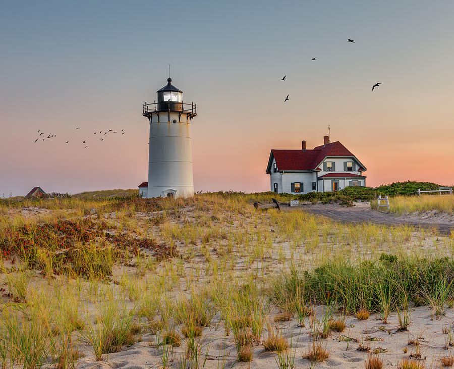 Race Point Light Cape Cod Photograph By Bill Wakeley