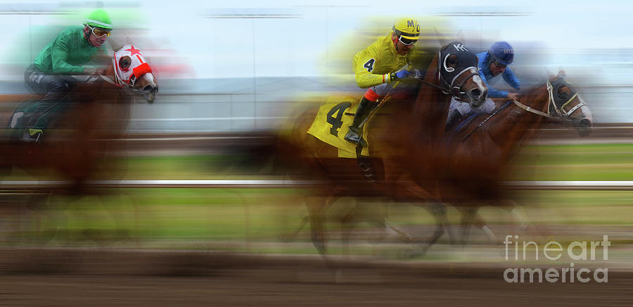 Dream Photograph - Racetrack Dreams 1 by Bob Christopher