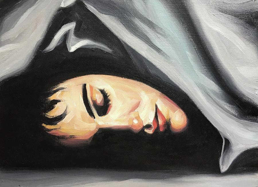 Rachel Painting - Rachel by Seamas Culligan