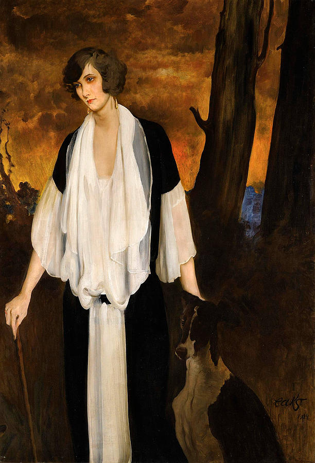 Leon Bakst Digital Art - Rachel Strong by Leon Bakst 1924 by Sarah Vernon