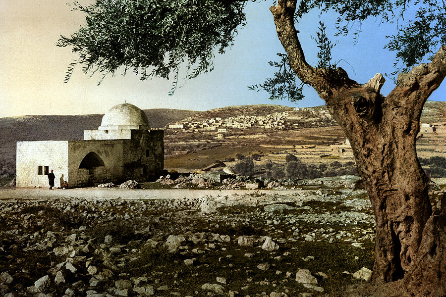 Outdoor Photograph - Rachel Tomb In Bethlehem by Munir Alawi