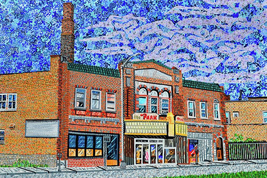 Racine Painting - Racine, Wisconsin by Micah Mullen