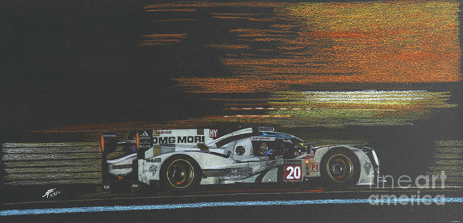 Racing into the night Porsche 919H Le Mans by Lorenzo Benetton
