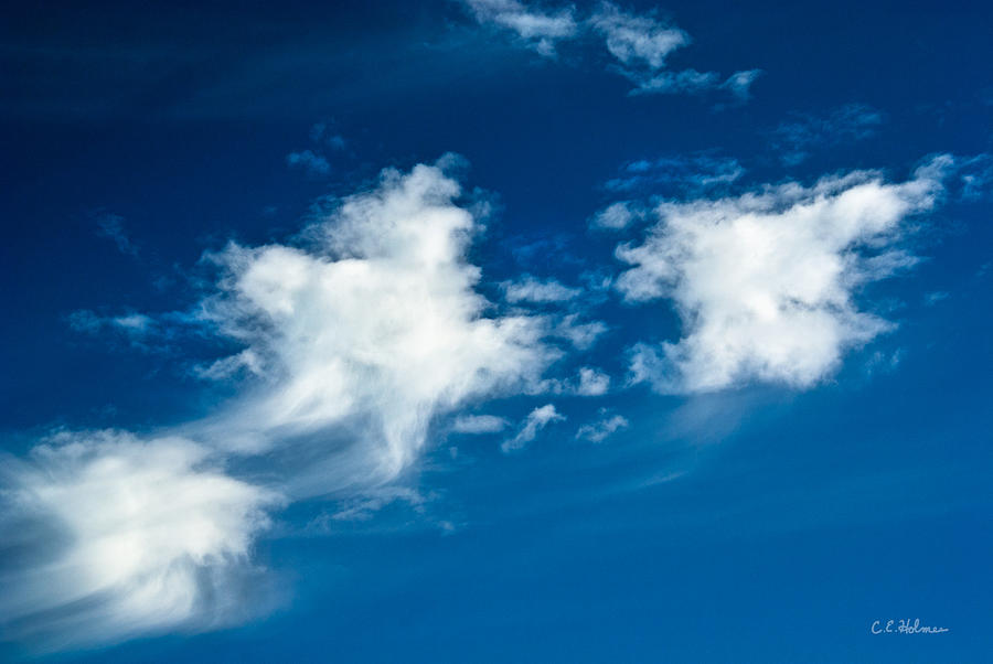 Clouds Photograph - Racing Star by Christopher Holmes