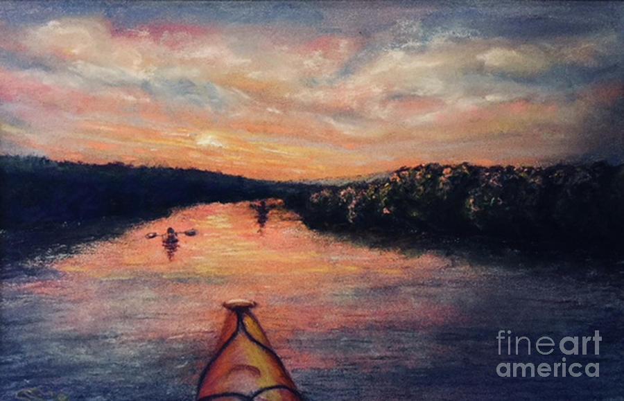 Racing the Sunset by Susan Sarabasha