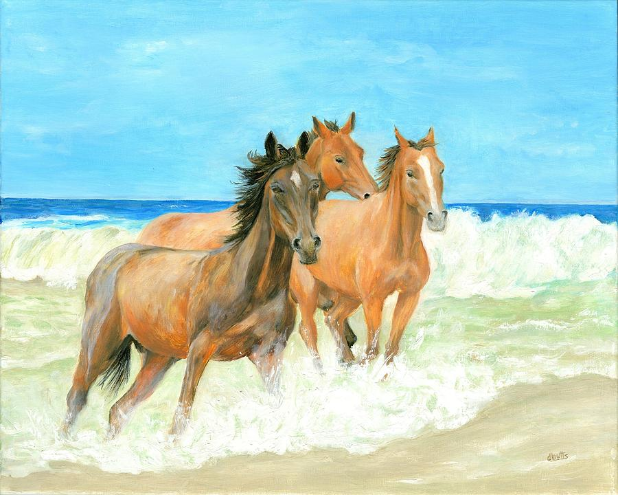 Racing the Surf by Deborah Butts