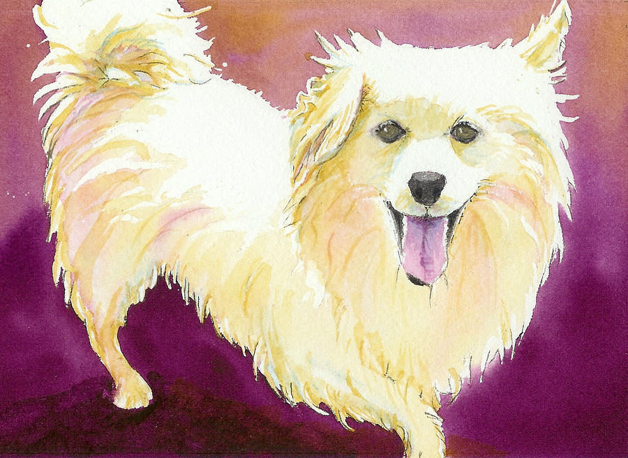 Dog Painting - Radar by Lynn Babineau