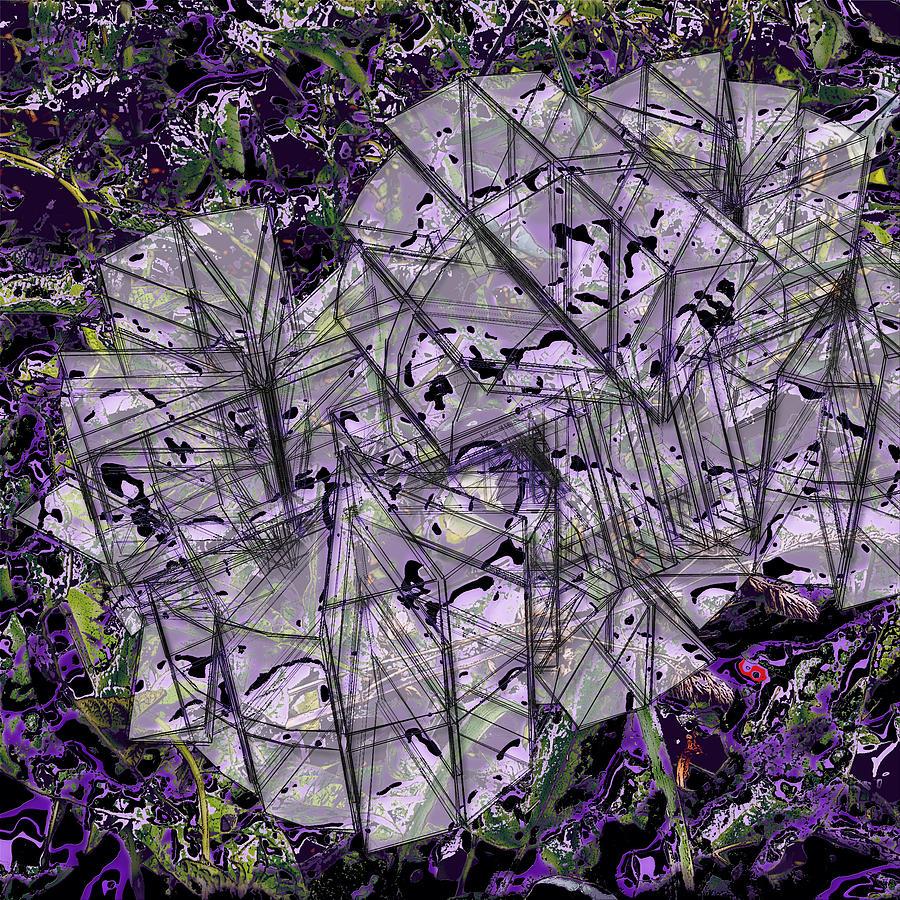 Graphic Design Digital Art - Radial Structure by Aaron Kreinbrook
