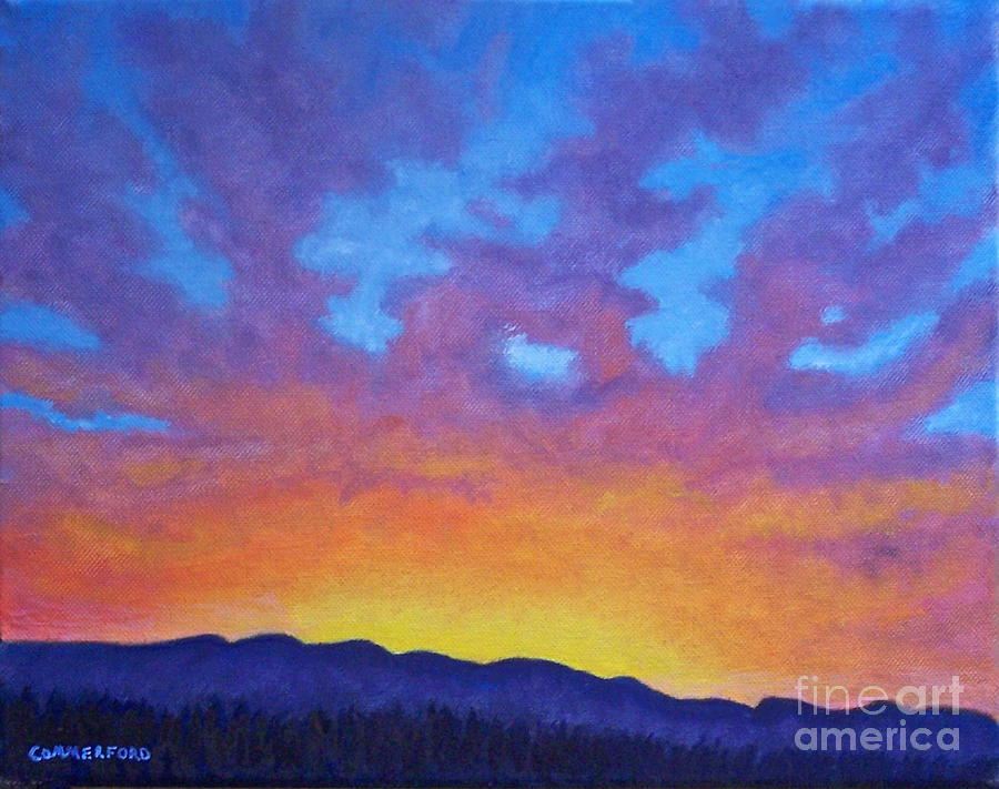 Landscape Painting - Radiance by Brian  Commerford