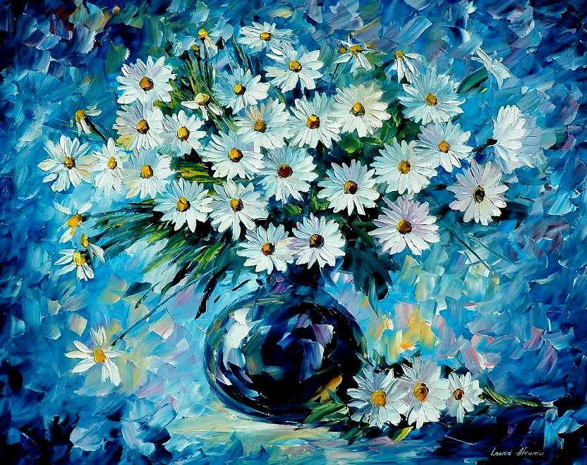 Floral Painting - Radiance by Leonid Afremov