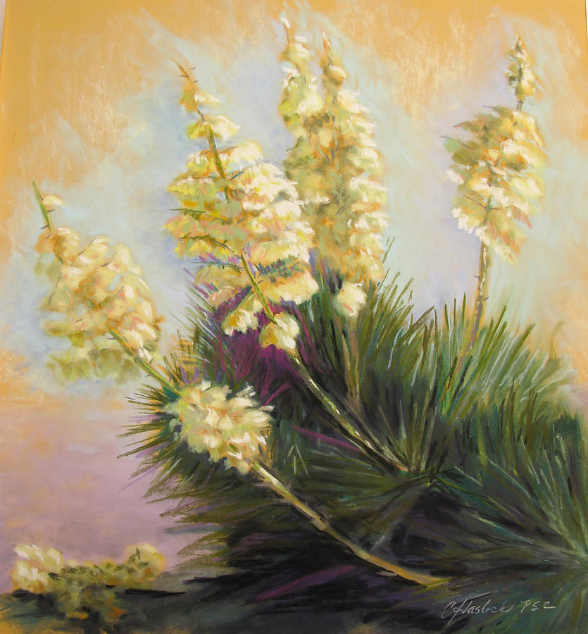 Floral Pastel - Radiant by Carole Haslock