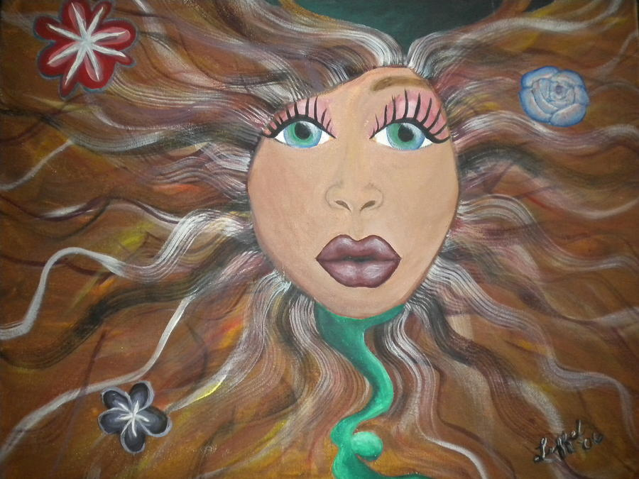 Pretty Painting - Radiate by Hollie Leffel