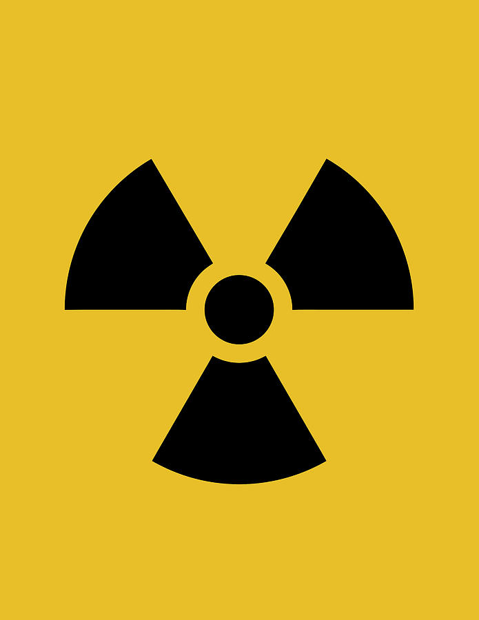 Radiation Hazard Symbol Digital Art By War Is Hell Store