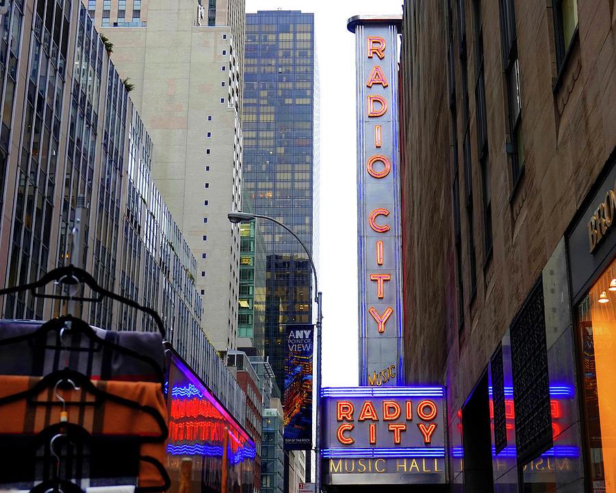 Radio City Music Hall Photograph