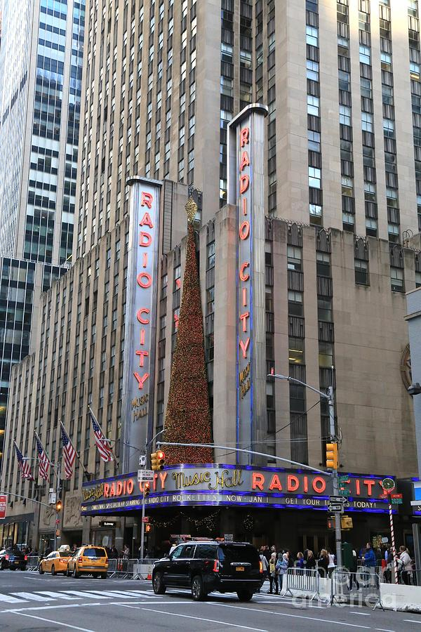 Destination Photograph - Radio City Music Hall New York City by Douglas Sacha