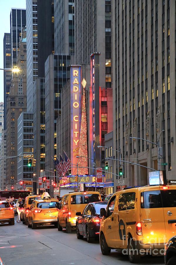 Destination Photograph - Radio City Music Hall New York by Douglas Sacha