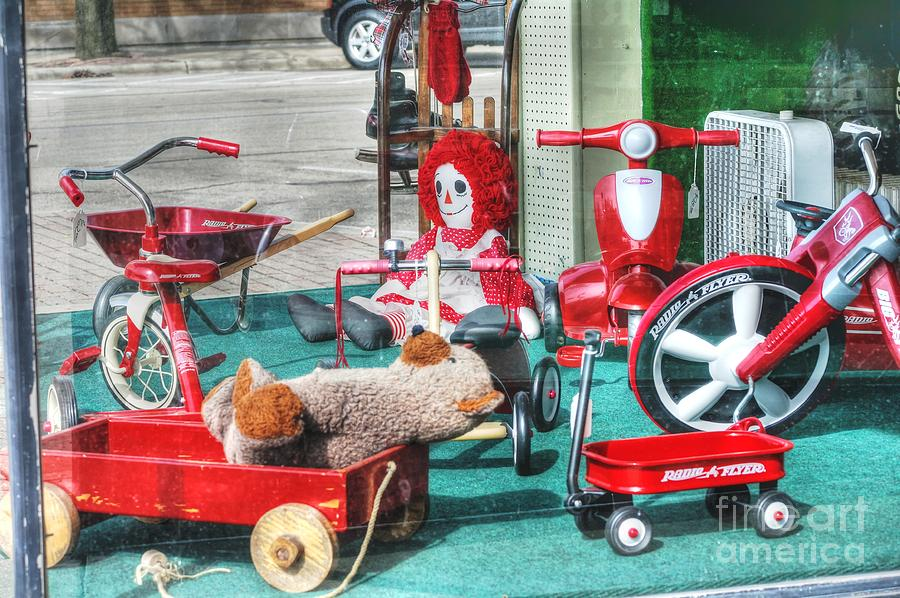 Radio Flyer Photograph - Radio Flyer by David Bearden