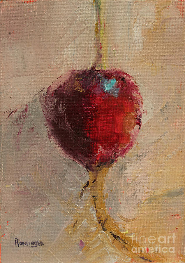 Radish Painting - Radish by Paint Box Studio
