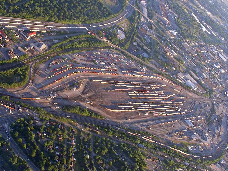 Nashville Photograph - Radnor Rail Yard - 1 by Randy Muir