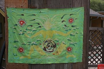 Radwoman Batik Tapestry Tapestry - Textile by Polly  Wood