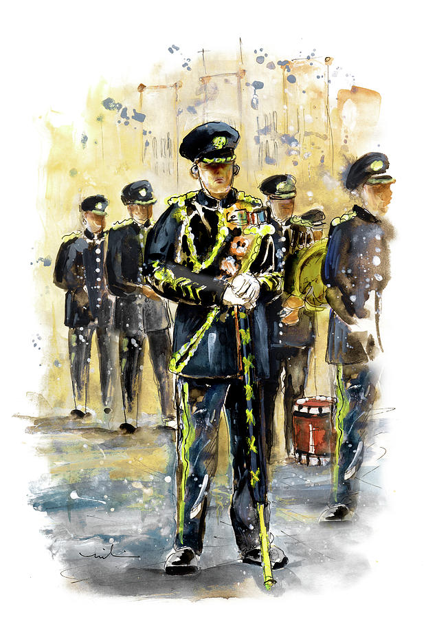 Travel Painting - Raf Military Parade In York by Miki De Goodaboom
