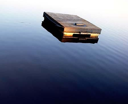 Cottage Life Photograph - Raft by Alastair  MacKay