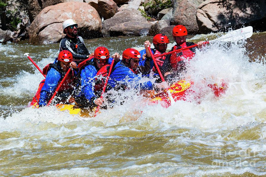 Rafting The Numbers Photograph