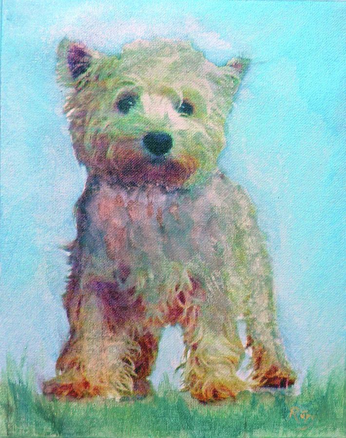 Ragamuffin Pup Painting