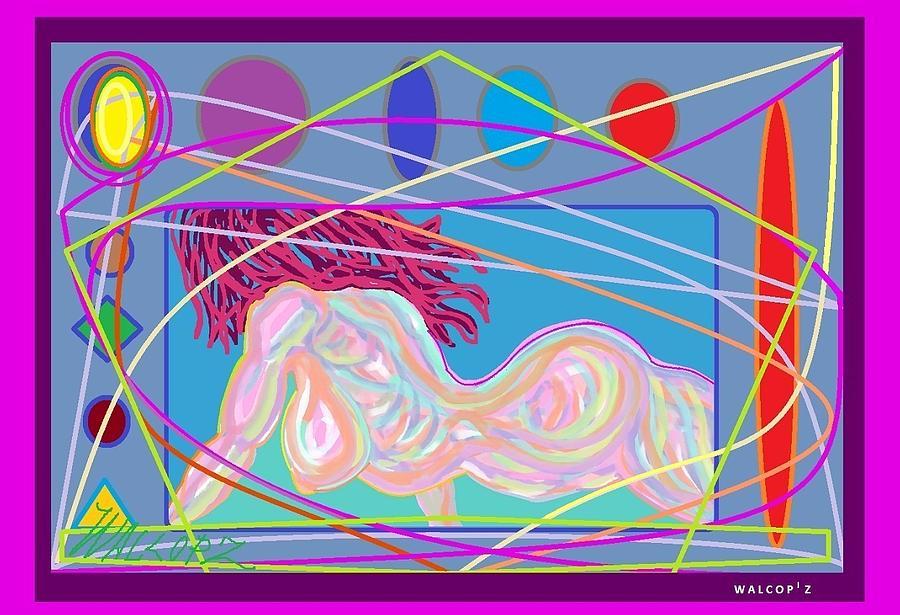 Ragazza Digital Art by Walcopz Valencia