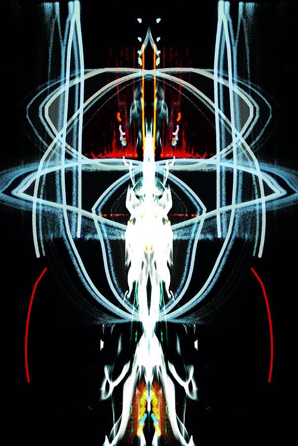 Demon Digital Art - Rage Across Hell by Patrick Guidato