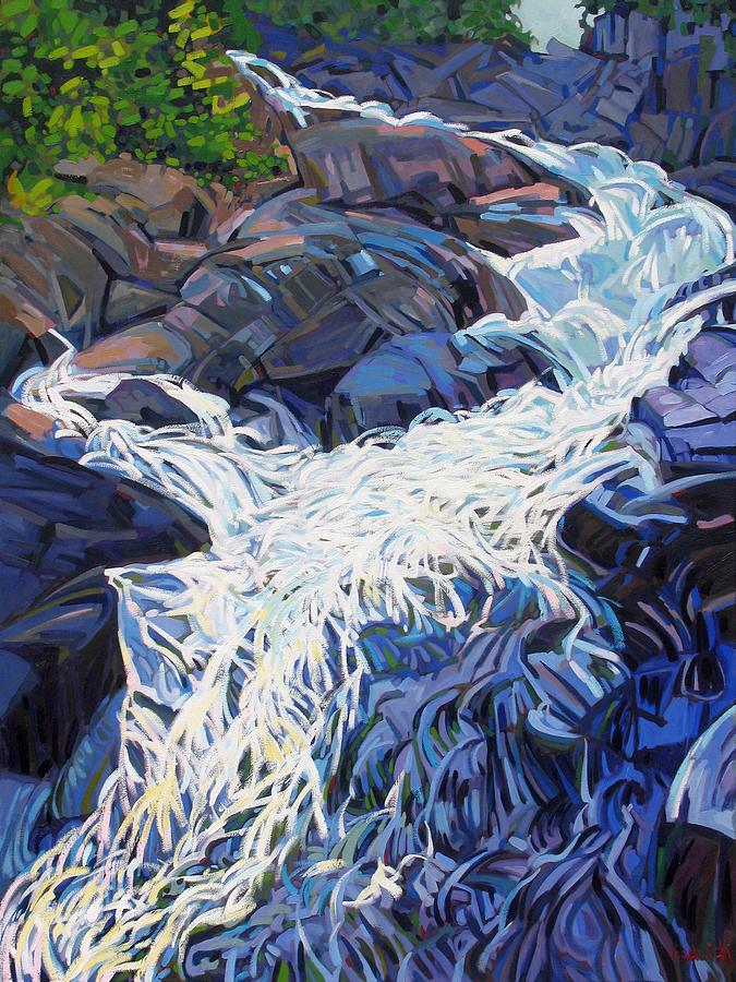 Ragged Painting - Ragging Waters by Phil Chadwick