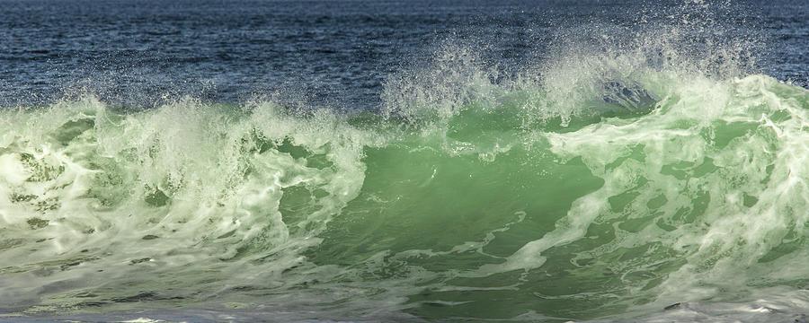 Gods Creation Photograph - Raging Aqua Sea by Paula Porterfield-Izzo