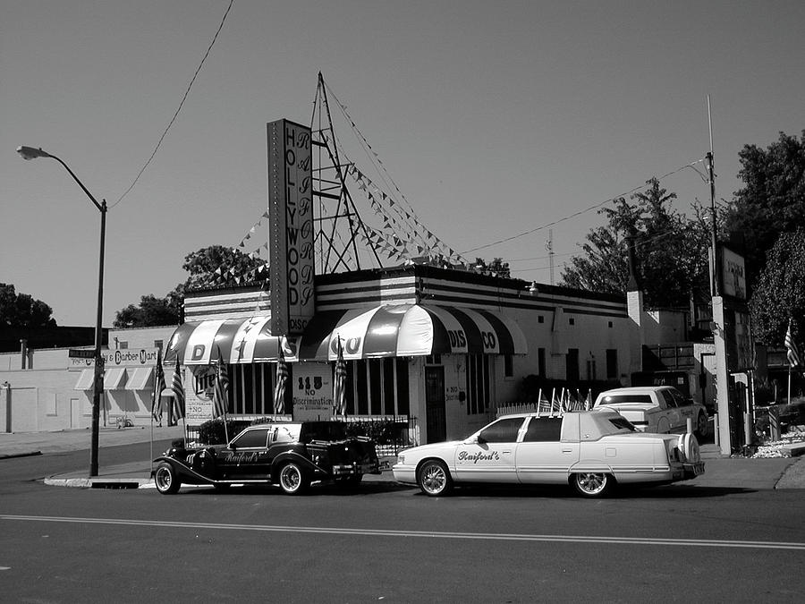 Memphis Photograph - Raifords Disco Memphis A Bw by Mark Czerniec