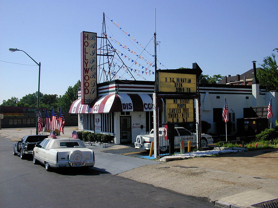 Memphis Photograph - Raifords Disco Memphis B by Mark Czerniec