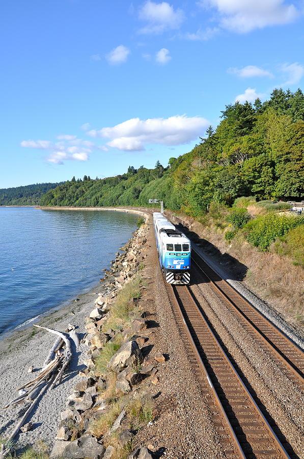 Rail Travel Photograph - Rail Travel by Caroline Reyes-Loughrey