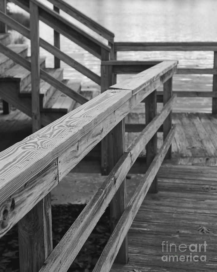 Railing Photograph - Railings by Hideaki Sakurai