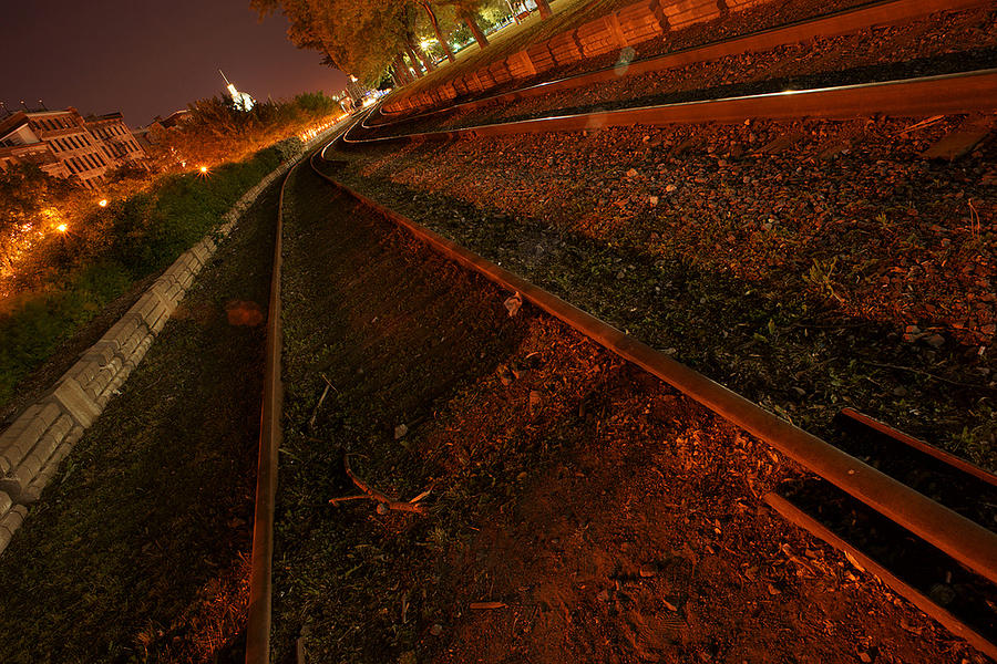 Railroad Photograph - Railroad by Andre Boulet
