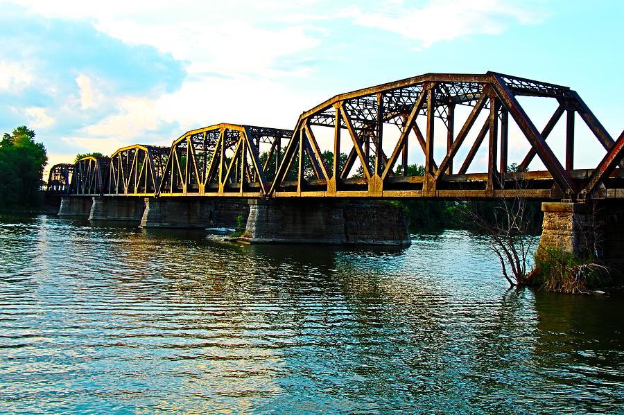 Railroad Bridge over the Susquehanna by Joy Buckels