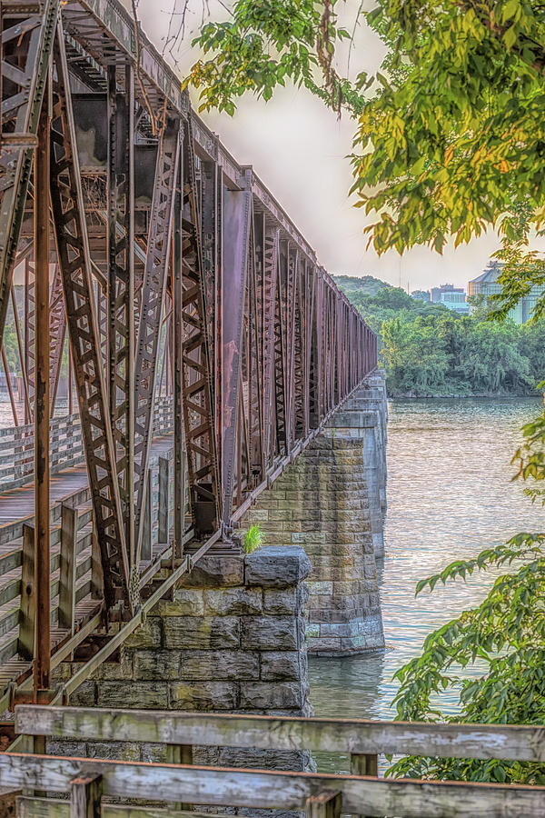 Muscle Shoals Photograph - Railroad Bridge14 by Craig Applegarth