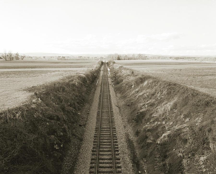 Gettysburg Photograph - Railroad Cut, West Of Gettysburg by Jan W Faul