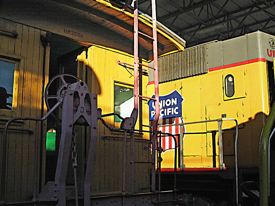 Trains Photograph - Railroad Museum 5 by Steve Ohlsen