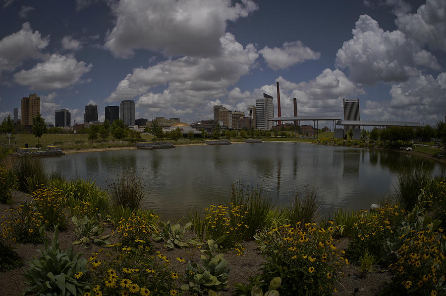 Railroad Park Skyline by Just Birmingham