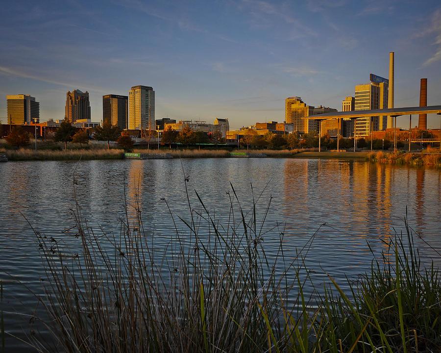 Railroad Park Twilight by Just Birmingham