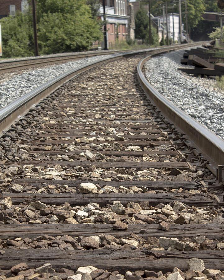 Railroad Tracks Photograph - Railroad Tracks by Danielle Allard