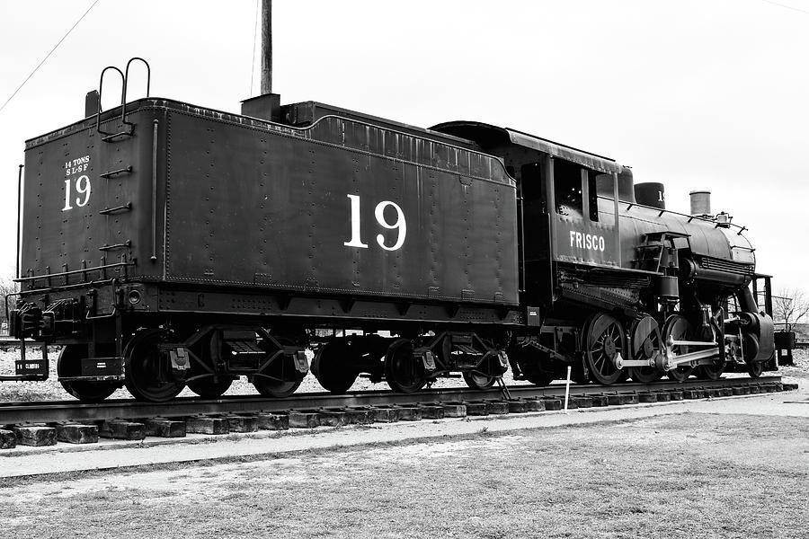 Railway Engine in Frisco by Nicole Lloyd