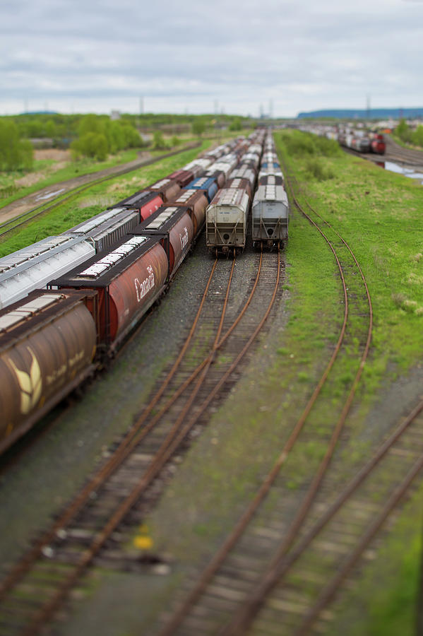 Railway by Linda Ryma