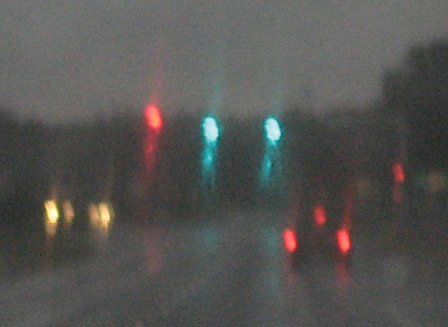 Lights Photograph - Rain 6 by Stephen Hawks