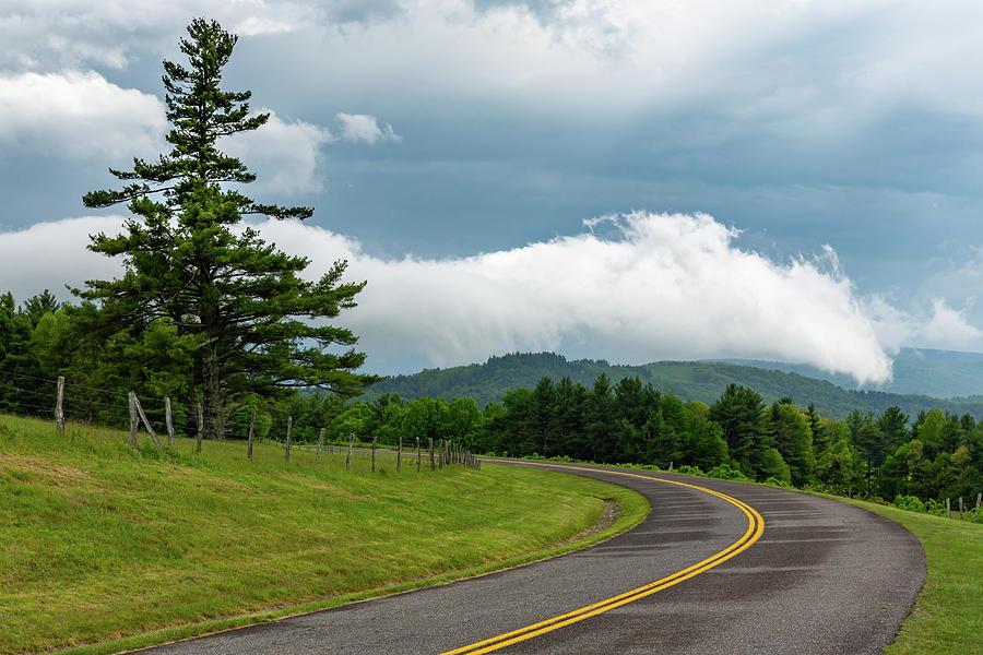 Blue Ridge Parkway Photograph - Rain Ahead by Jim Neal