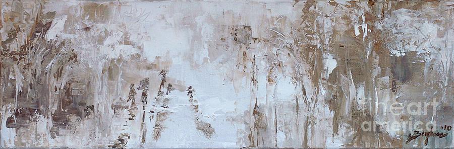 Rain Painting by Aneta  Berghane
