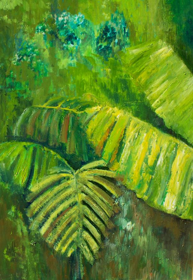 Rain Forest Painting - Rain Forest by Carol P Kingsley